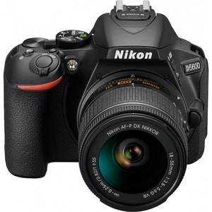 Nikon D5600 - DX-Format DSLR + SnapBridge - with 18-55mm Lens