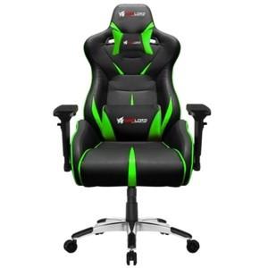 Fatal X Slash Series Phantom PC Gaming Chair - Green/Black