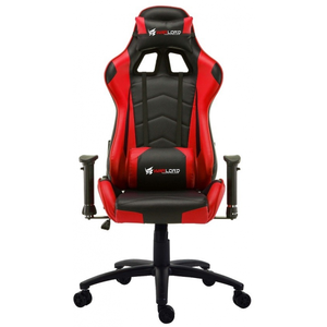 Warlord Huntsmen Gaming Chair - Black/Red (HTG-WRD-GCH013)