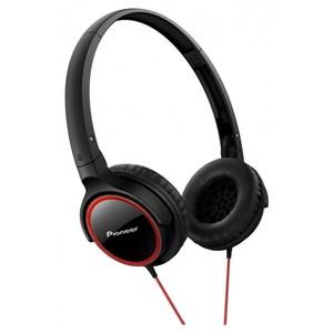 PIONEER Fully Enclosed Dynamic Headphones SE-MJ512-R (Red)