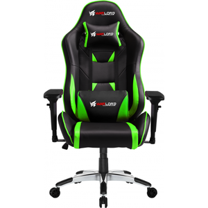 Warlord Phantom Gaming Chair - Black/Green (GAM-WRD-GCH-003)