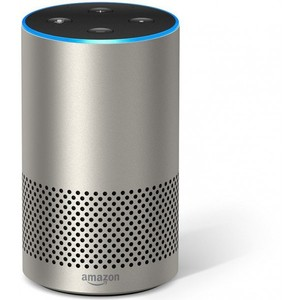 Amazon Echo 2nd Generation – Silver Finish