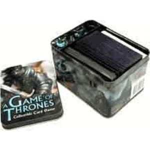 A Game of Thrones Card Coffin