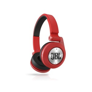 JBL E40BT Red High-Performance Wireless On-Ear Bluetooth Stereo Headphone  Red
