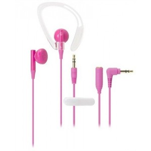Audio Technica ATH-CP200 PK Pink | Sports Inner-Ear Headphones