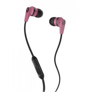 Skullcandy Inkd 2.0 Earbud Headphones with Mic (Pink/Black)
