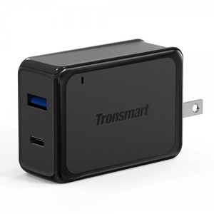 Tronsmart W2PTU Quick Charge 3.0 & Type-C Dual Ports Wall Charger