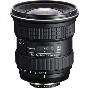 Tokina 11-16mm f/2.8 AT-X 116 Pro DX2 Autofocus Lens for Nikon DX-Format DSLR