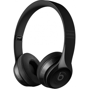 Beats Solo 3 Wireless Headphones - Gloss Black