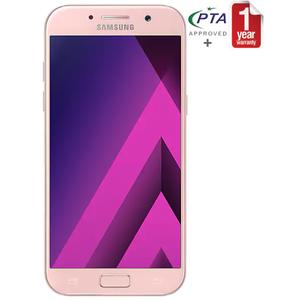 Samsung Galaxy A5 2017 - SM-A520 LTE - 3GB Ram - Fingerprint Sensor - Water-resistant - Martian Pink
