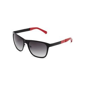 Guess Mens Matte Color-Block Wayfarer Sunglasses