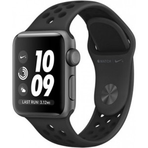 Apple Watch Series 3 Nike+ GPS 38mm Space Gray Aluminum Case with Anthracite / Black Nike Sport Band MQKY2