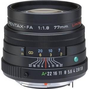 Pentax Telephoto SMCP-FA 77mm f/1.8 Limited Series Autofocus Lens