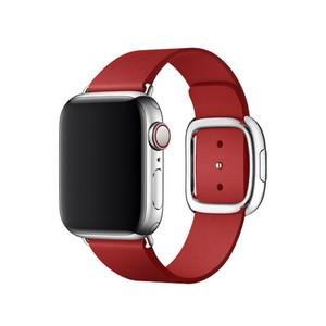 Apple 40mm Ruby Red Modern Buckle Band - Medium