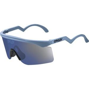Oakley Razor Blade Heritage Collection Sunglasses Blue/Ice Irid