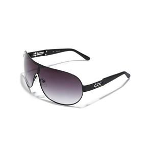 Guess Mens Cross-Detail Shield Sunglasses