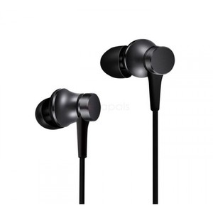 Xiaomi Piston Fresh Edition Wired Control Earphone Headphone With Mic - Black