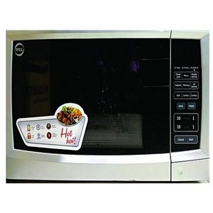 PEL Microwave Oven 30BG Digital Grill Silver