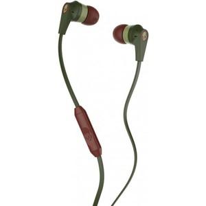 Skullcandy Inkd 2.0 Earbud Headphones with Mic - Green/Brown