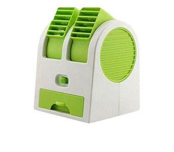 Singapore Mobile Accessories USB Mini Cooler Fan - Green
