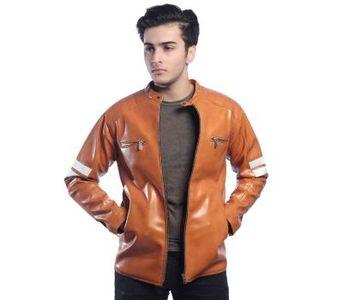 Retro Style Zipped Biker Jacket