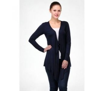 Womens Navy Blue Shrug - Winter Collection