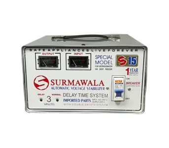 Yasir Traders 1600 W Automatic Voltage Stabilizer S-15