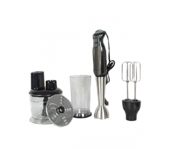 WESTPOINT WF-9916 HAND BLENDER STEEL ROD BEATER & CHOPPER 800W – SILVER & BLACK