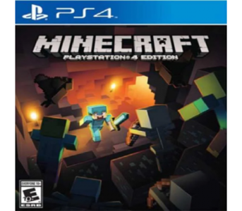 PLAYSTATION 4 DVD Minecraft PS4 Game