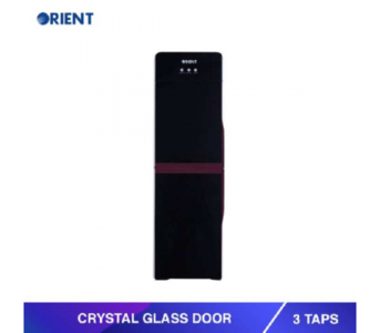 Mehran Electronics -Karachi Orient Crystal Glass Door Water Dispenser - 3 Taps
