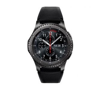 Samsung Gear S3 Frontier Compatible with Android iOS - Dark Grey Smart Watch