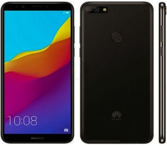 Huawei Y7 Prime 2018 Dual Sim (4G, 3GB, 32GB, Black) 1 Year Official Warranty