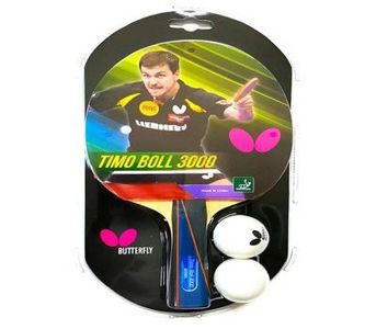 Butterfly Timo Boll 3000 Table Tennis Racket By Neuron Supplies