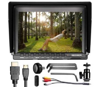 NW759 - 7Inch IPS Screen HD Camera Field Monitor - Black