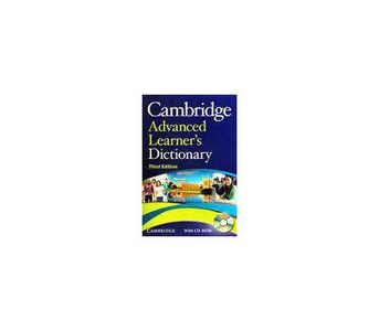 CAMBRIDGE ADVANCED LEARNERS DICTIONARY WITH CD BY : CAMBRIDGE DICTIONARY