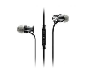 Sennheiser Sennheiser In-Ear Earphones for Galaxy - Momentum M2 IEI for iOS - Black