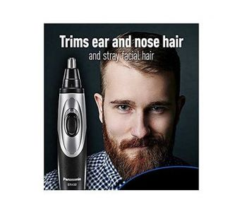 Panasonic Nose & Ear Hair Trimmer ER430K Vacuum Cleaning System