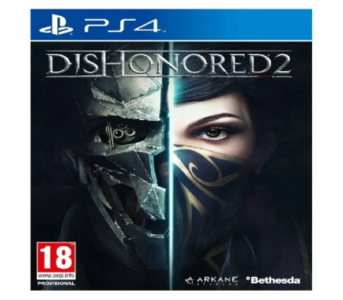 PLAYSTATION 4 DVD Dishonored 2 PS4 GAME