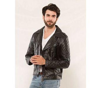 House of Leather Black Sheep Leather Biker Men Jacket MJ-550