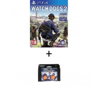 Ps4 Watch Dogs 2 Ps4 Game Plus Kontrol Freek
