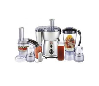 Westpoint WF-2804 S - Food Factory With 5 in 1 Grinder - Silver