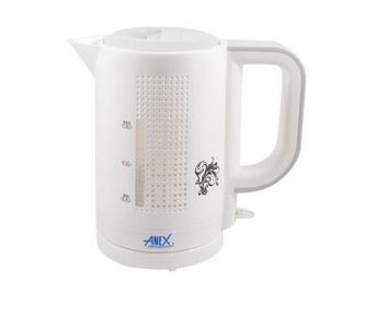 Anex AG-4029 - Deluxe Kettle 1 Liter - White