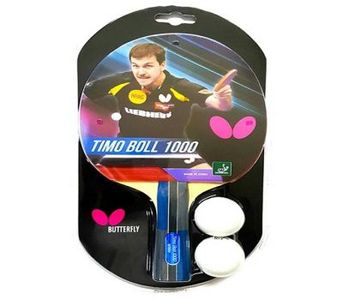Butterfly Timo Boll 1000 Table Tennis Racket By Neuron Supplies