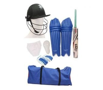 Fitoos Cricket Starter Kit - Multicolour
