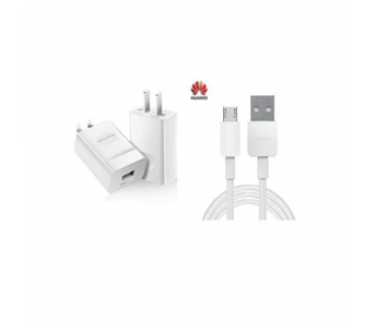 Huawei Quick Charger - 2A - With Micro USB Charging Cable For Honor 4X,5X,6X,7X,8 Lite,9 Lite - W...