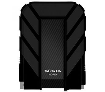 ADATA HD710 500GB USB 3.0 Waterproof/Dustproof/ Shock-Resistant External Hard Drive, Black