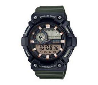 Casio Youth Series Analog-Digital Watch AEQ-200W-3AVDF Black