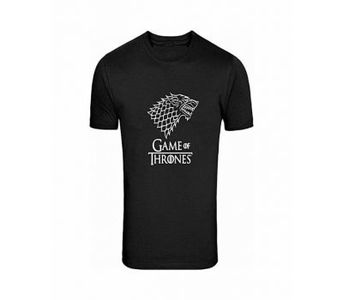 Marhaba Mart Black Game Of Thrones Printed T-Shirt For Men