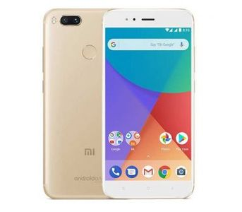 Xiaomi A1 Android One Dual Sim (4G, 4GB RAM, 64GB ROM, Gold) Official Warranty