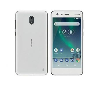 Nokia 2 Dual Sim (4G, 1GB RAM, 8GB ROM, White) Official Warranty